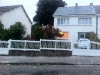 portail + clôture + portillon PVC blanc