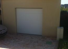 Porte sectionnelle plafond